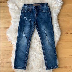 Joe's Distressed Jeans, size 6 little boy